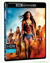 Wonder Woman 4K Ultra HD includes Blu-ray 2D
