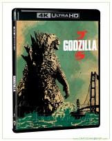 Godzilla (2014) 4K Ultra HD includes Blu-ray 2D