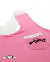 Children's Vest (Pink) - Miraculous Ladybug