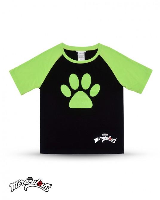 T Shirt (ฺBlack) - Miraculous Ladybug