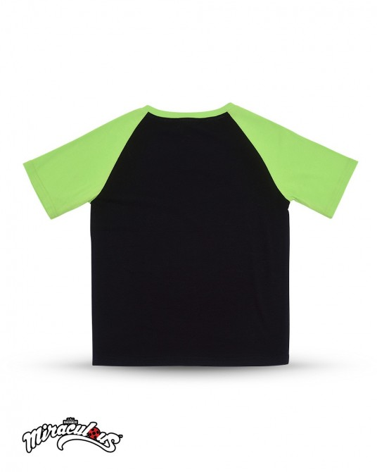 T Shirt (Black Green) - Miraculous Ladybug
