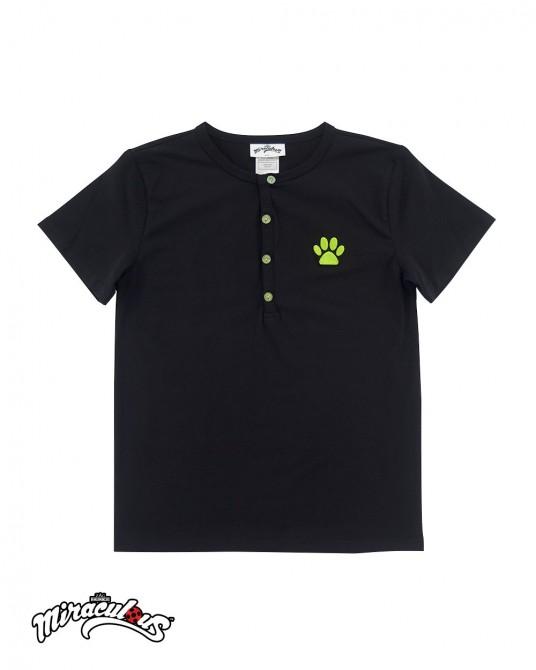 เสื้อยืดแฟชั่น เสื้อยืดเด็ก ลายการ์ตูน เลดี้บัค (สีเทา)