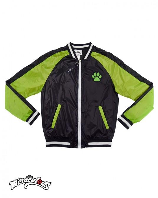 เสื้อแจ๊กเก็ต แจ๊กเก็ตเด็ก ลายการ์ตูน เลดี้บัค (สีเขียว-ดำ)