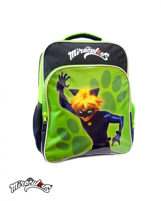 School Backpack (Green) - Miraculous Ladybug