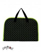 กระเป๋าอเนกประสงค์ สะพายข้าง ลายการ์ตูน เลดี้บัค (สีดำ)
