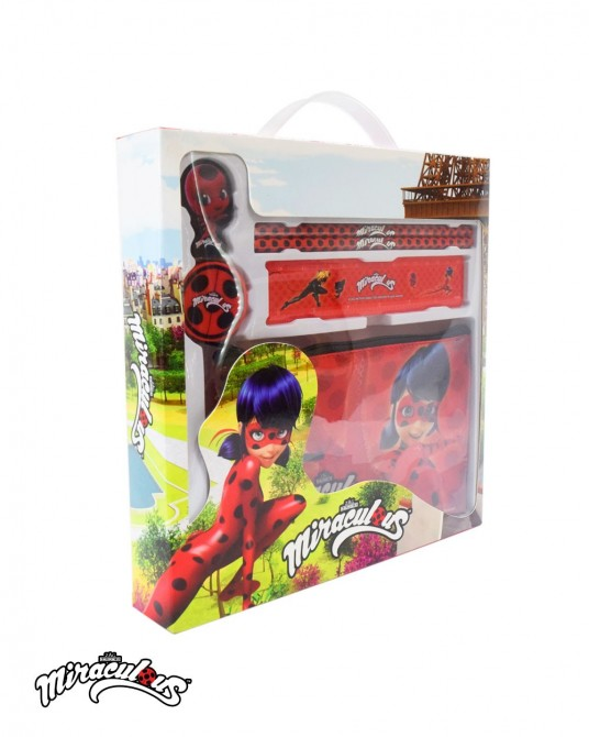 Stationery set (6 pcs) - Miraculous Ladybug