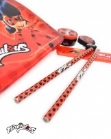 Stationary set (6 pcs) - Miraculous Ladybug