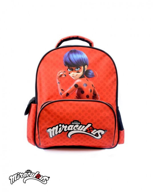 School Backpack (Red) - Miraculous Ladybug