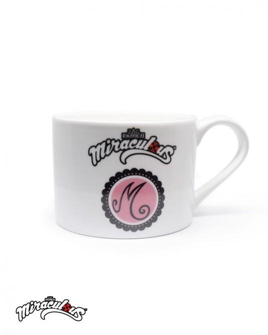 แก้วกาแฟ ลายการ์ตูน เลดี้บัค (สีขาว)