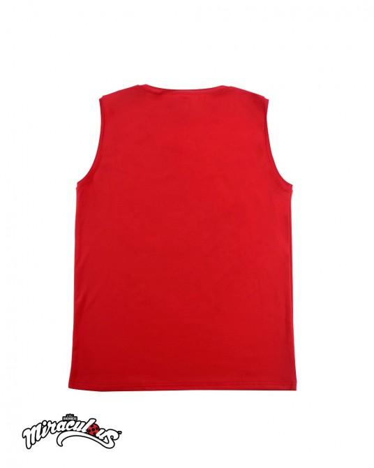 เสื้อกล้าม ลายการ์ตูน เลดี้บัค (สีแดง)