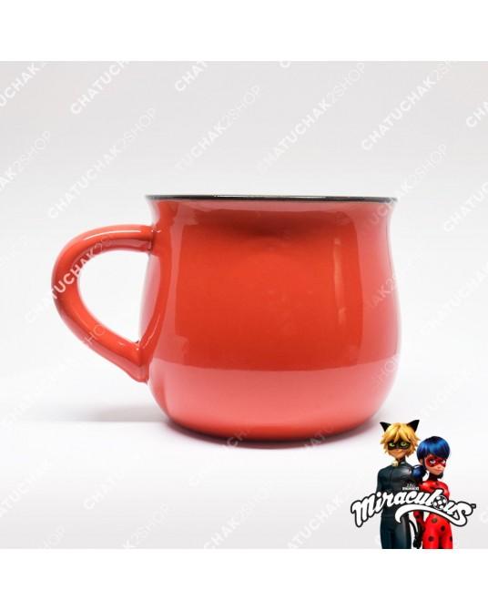 Ceramic Mug (Red) - Miraculous Ladybug