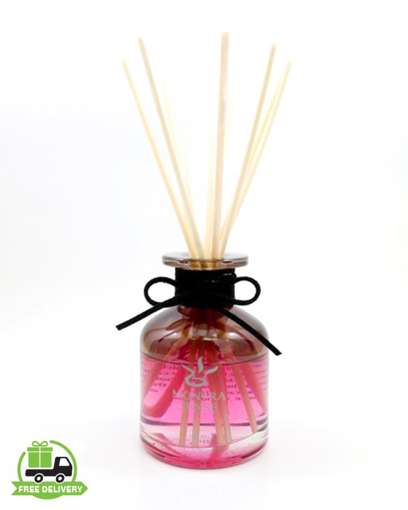 Aromatherapy diffuser : Smell rose with reed diffuser