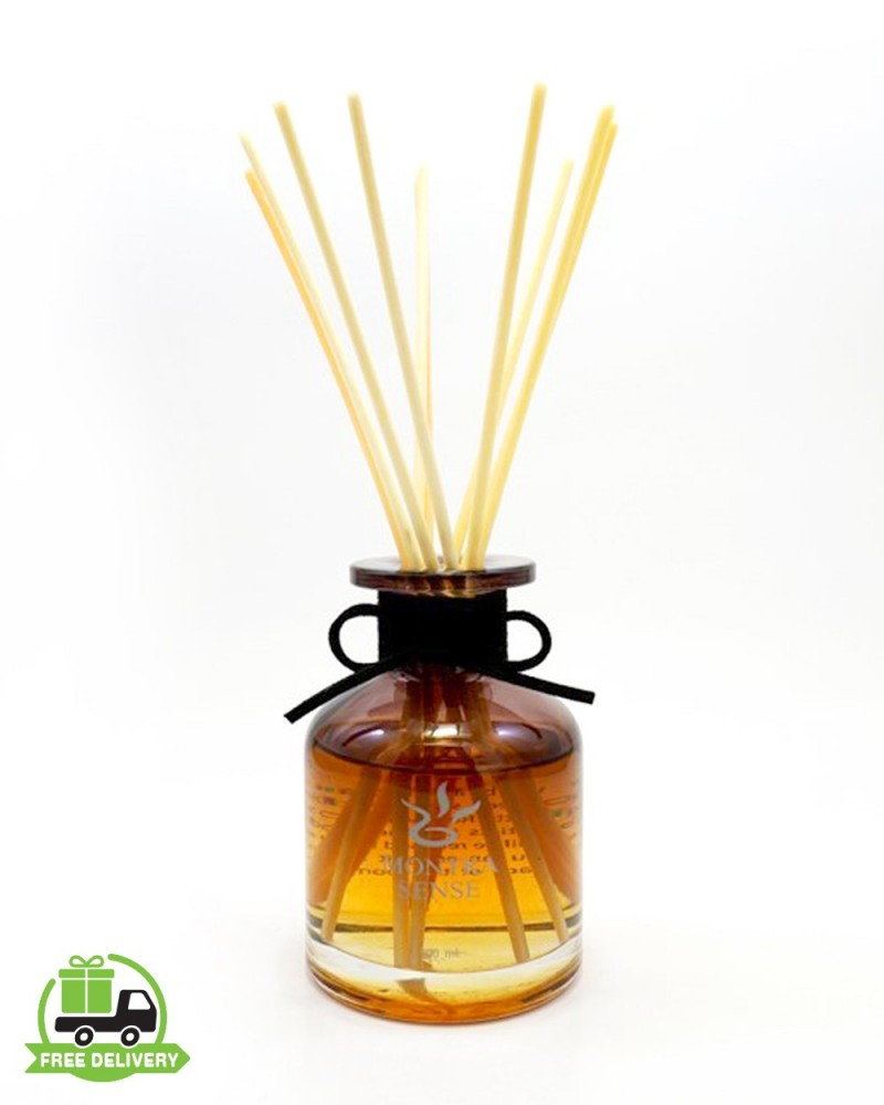Aromatherapy diffuser : Smell jasmine with reed diffuser