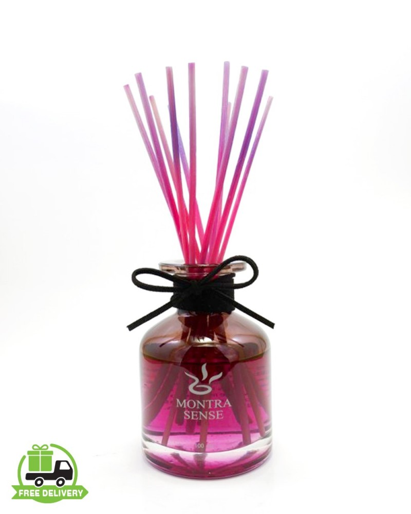Aromatherapy diffuser : Smell lavender with reed diffuser