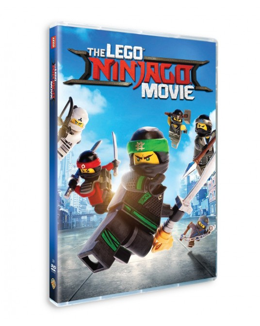 The LEGO NINJAGO Movie DVD