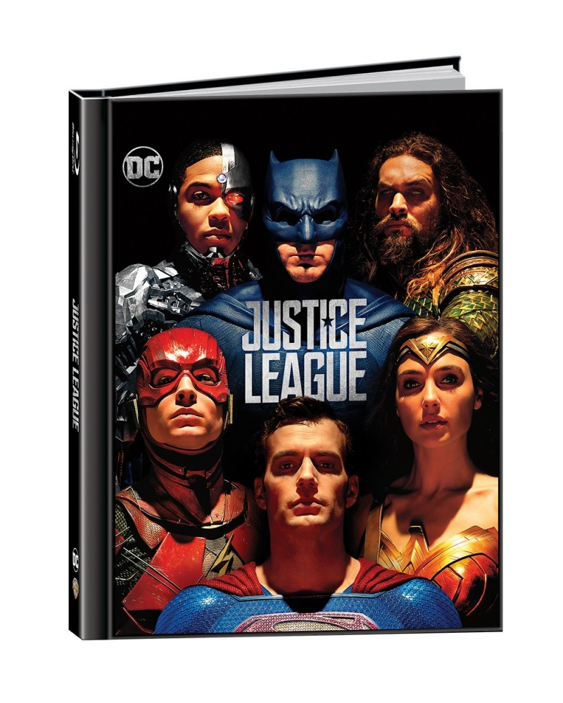 Justice League 4K Ultra HD Digibook includes Blu-ray 2D