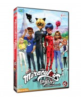 DVD Miraculous Lady Bug Volume 5