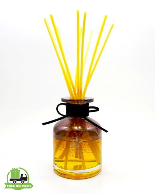 น้ำมันหอมระเหย อโรม่า พร้อมก้านไม้หอม กลิ่น frangipani