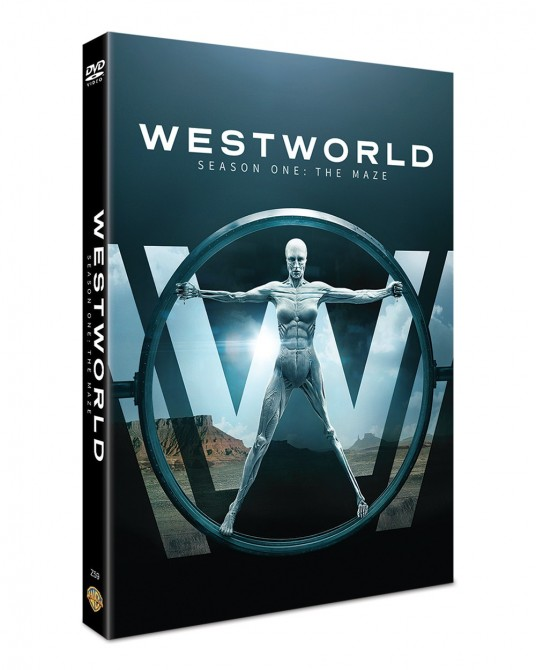 Westworld : The Complete 1st Season DVD Series (3 discs)