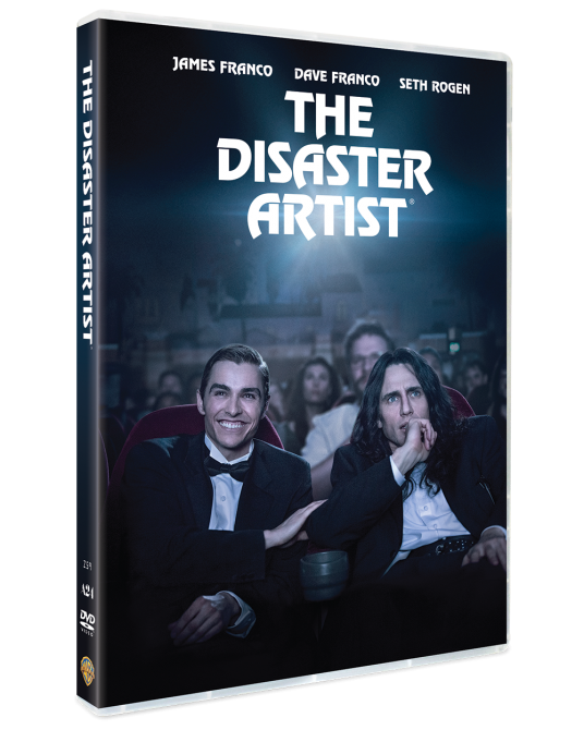 The Disaster Artist DVD (SE)
