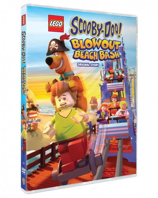 Lego Scooby-Doo: Blowout Beach Bash! DVD