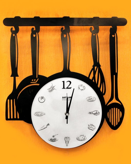 Kitchen Ware Wall clock
