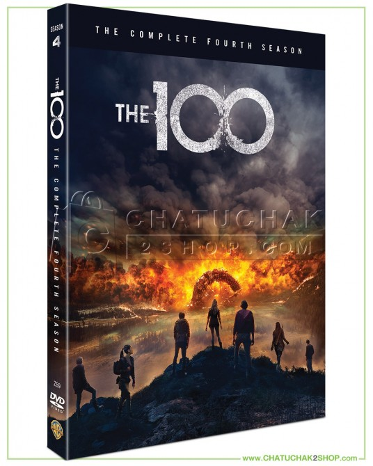The 100 The Complete 4th Season DVD Series (3 discs)