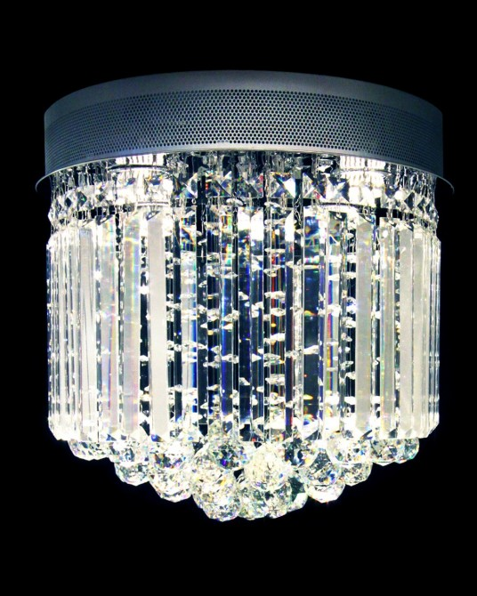 Chandelier Steam Buns Glass Rod Style 2
