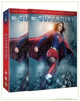 Supergirl : The Complete 2nd Season DVD Series (5 discs)