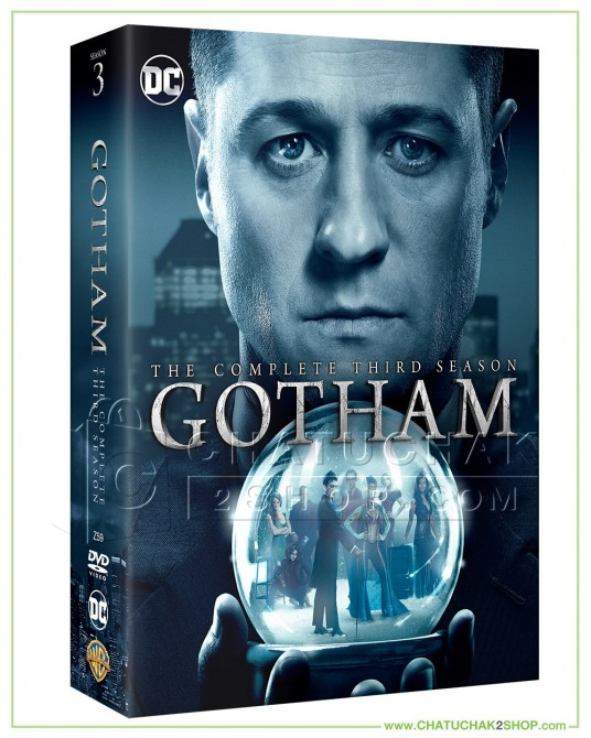 Gotham : The Complete 3rd Season DVD Series (6 discs)