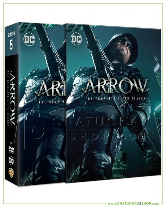 Arrow : The Complete 5th Season DVD Series (5 discs)